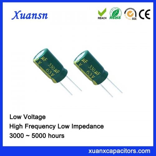 Energy-Saving Lamp Capacitor 330UF63V 3 years warranty