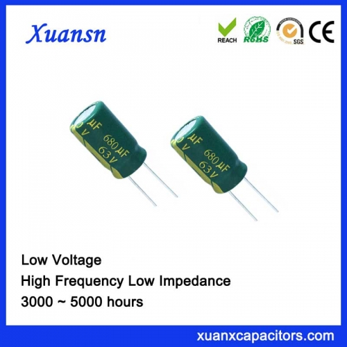 High Quality 680UF63V 10000hours Electrolytic Capacitor pcb board