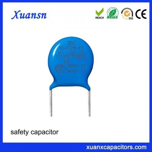 Ceramic AC capacitor 472M400V Spot sale