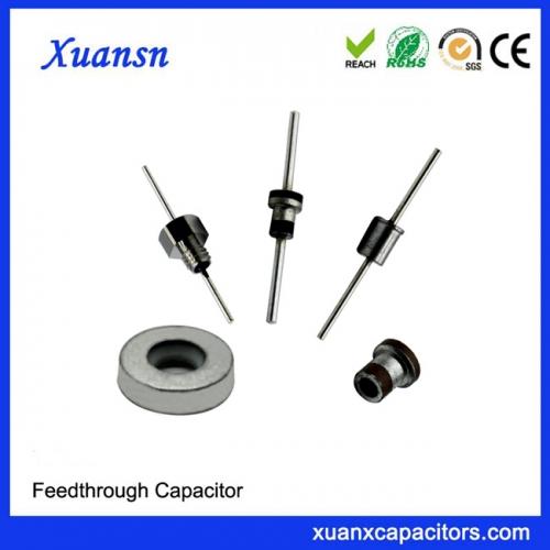 Feed Through Capacitor EMI Ceramic Capacitor