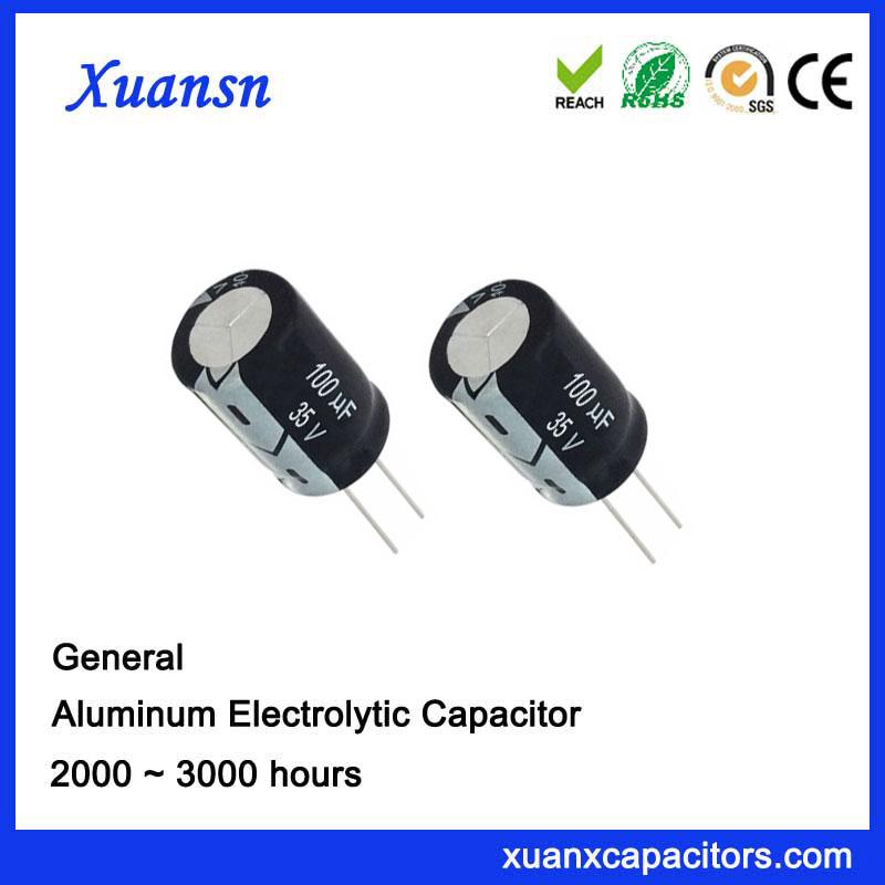Circuit Board Running Capacitor 100UF35V