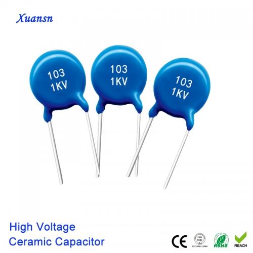 Monolithic Ceramic Capacitor 103K1KV High Voltage
