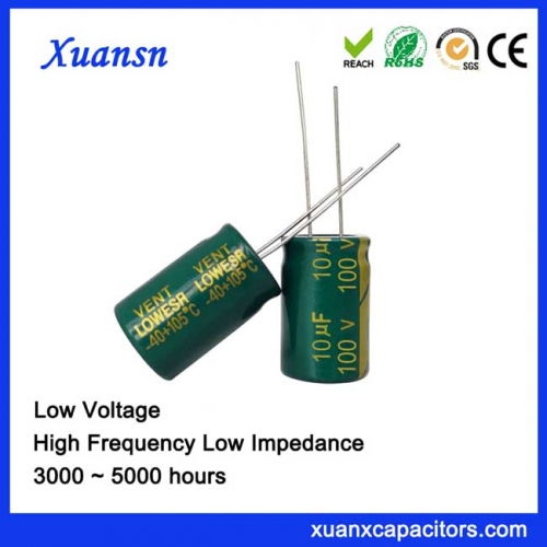Aluminum Capacitor 10UF100V Electronic Component