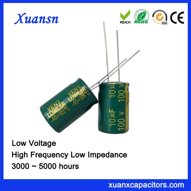 Aluminum Capacitor 10UF100V Electronic Component