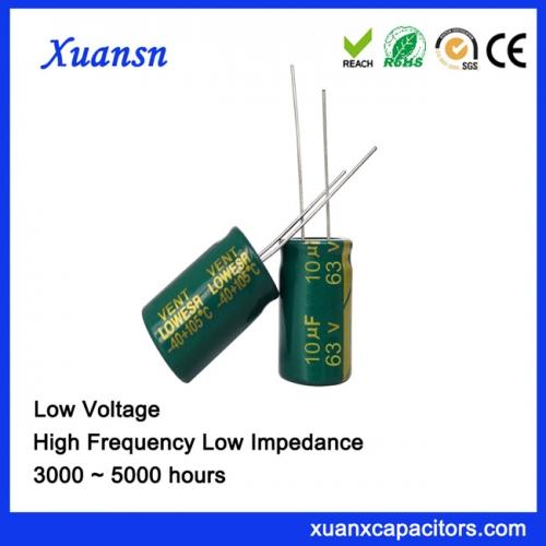 10UF63V Start Capacitor Aluminum Cap