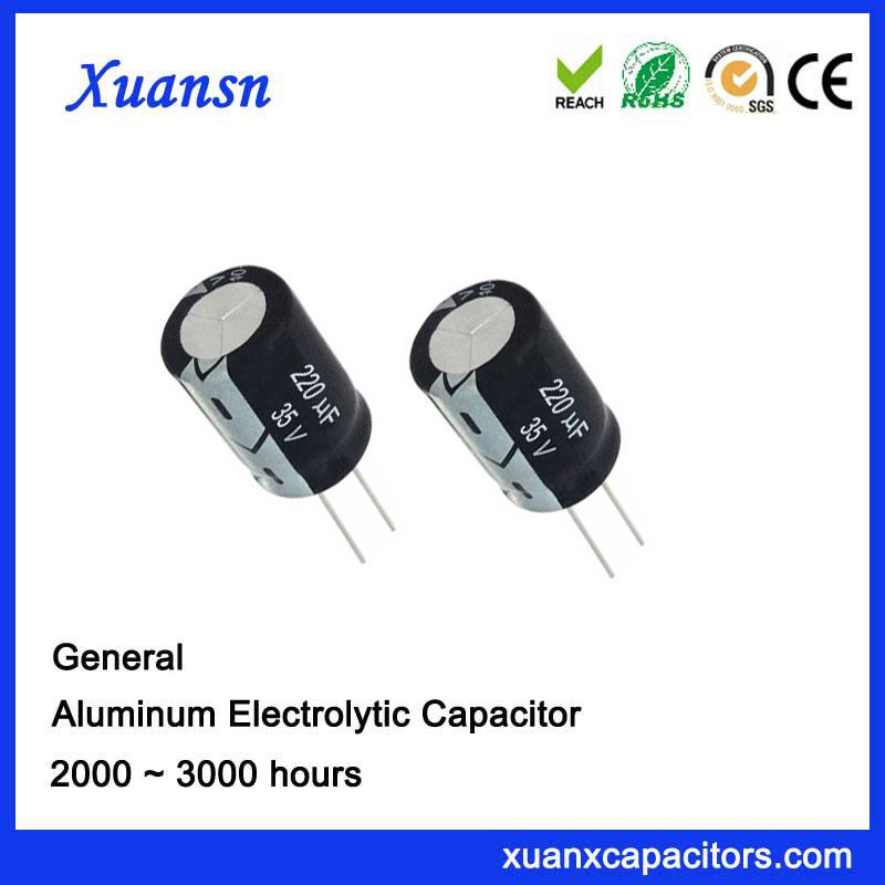 220UF35V Power Capacitor Run Capacitor