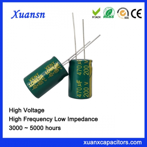 Electrolytic capacitor 470UF200V Filter Power