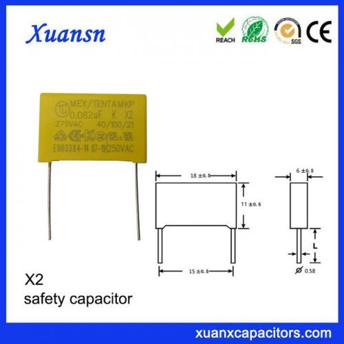Ventilator capacitor 0.082UF safety capacitor
