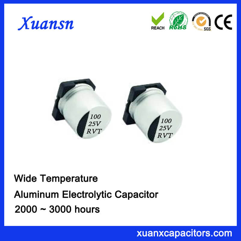 LED special patch 100uf 25v electrolytic capacitor