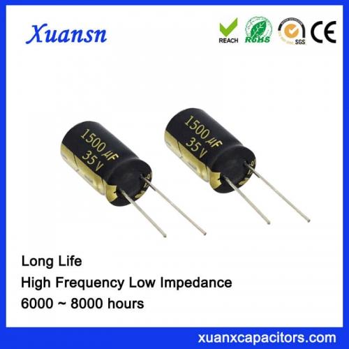 Environmental protection capacitor 1500UF 35V