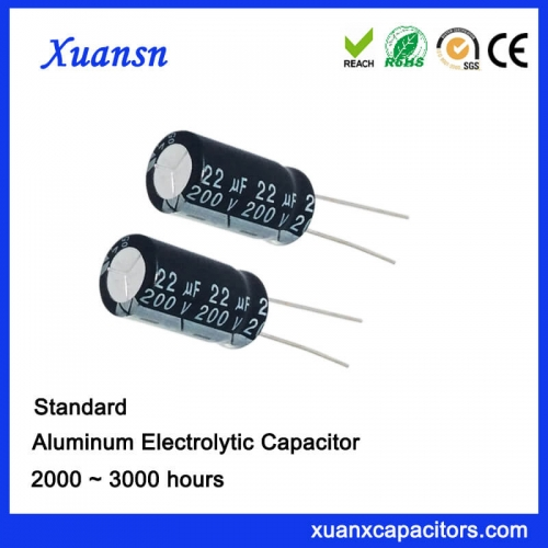 Display electrolytic capacitor 22UF 200V