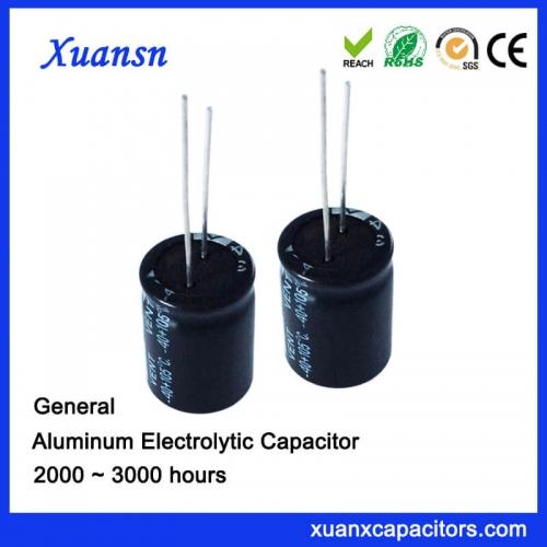 Flash off lamp aluminum electrolytic capacitor 33uf400V