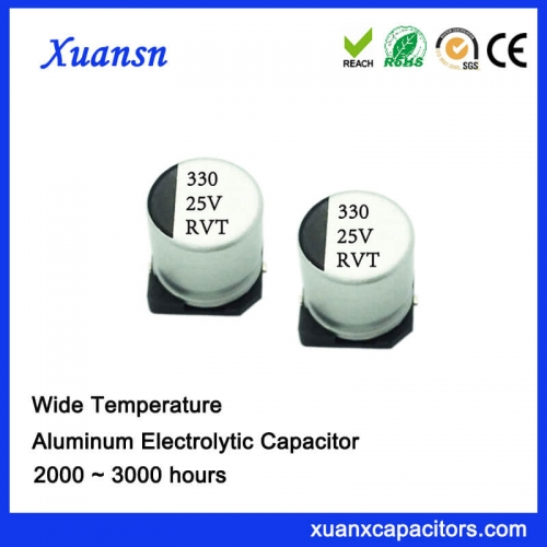 Original SMD electrolytic capacitor 330UF