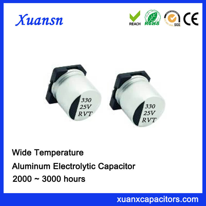 Original SMD electrolytic capacitor 330UF