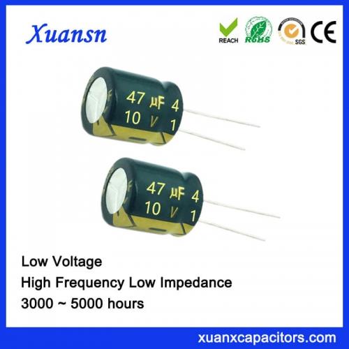 High quality capacitor 47UF 10V