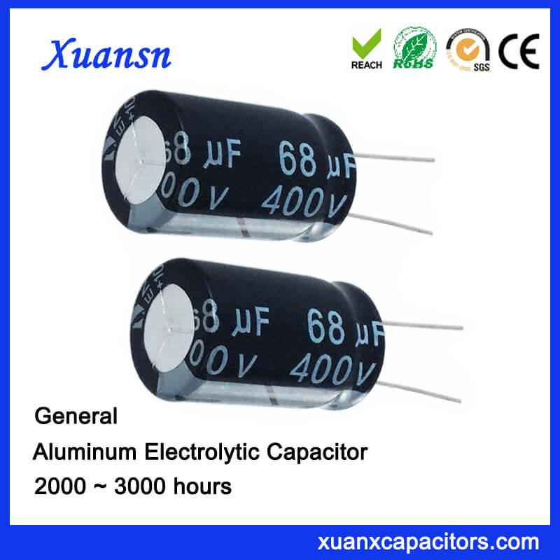 Custom capacitor 68uf400V