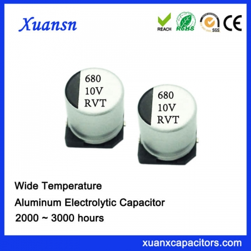 Ultra-small SMD electrolytic capacitor 680UF 10V