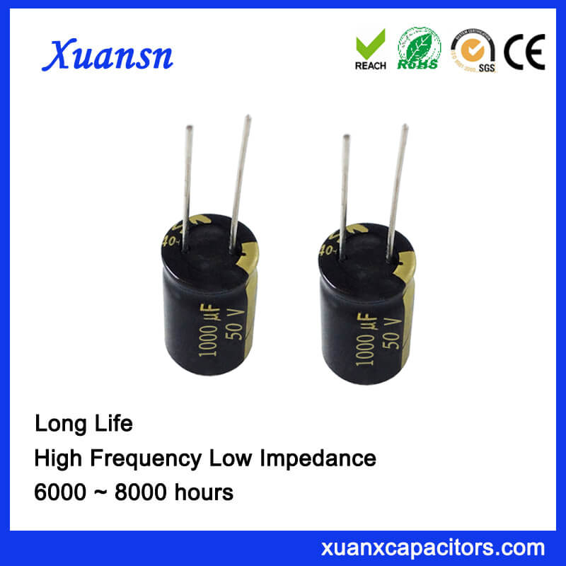 Aluminum electrolytic capacitor 1000uf50V
