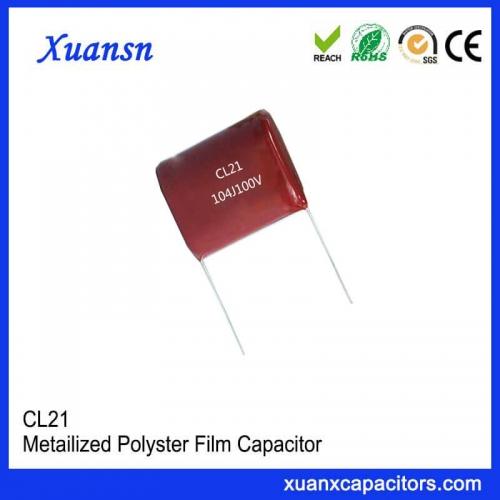 104J 100V Film Capacitor