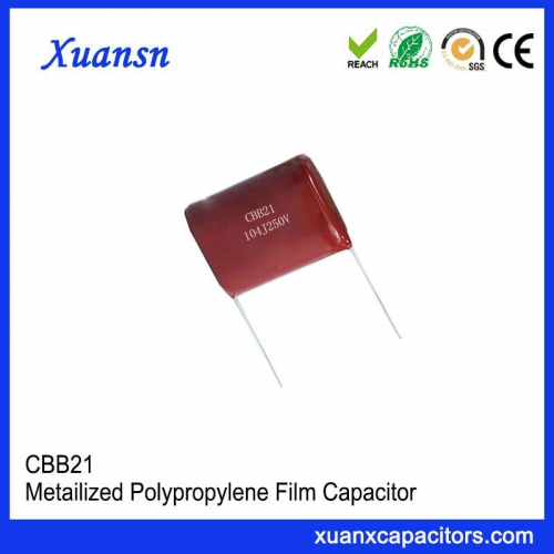 104J 250V P=10mm film capacitor