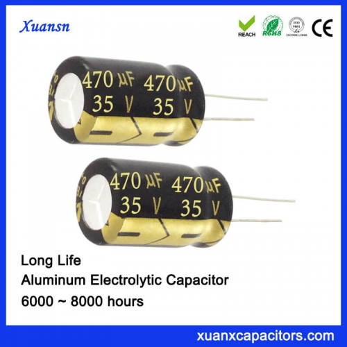 Long life condenser 470uf35V