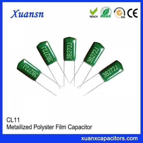272J Green Polyester Capacitor
