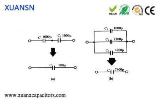 parallel capacitors