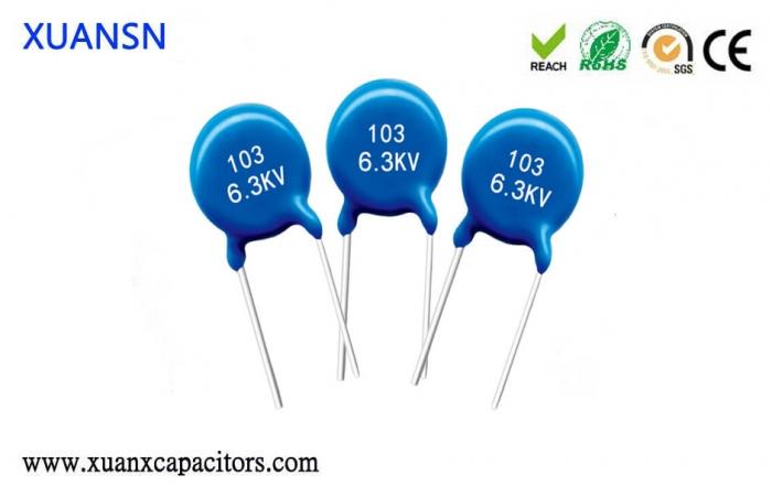 AC high voltage ceramic capacitor