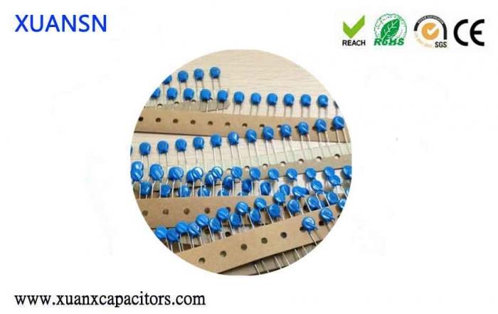 Civilian DC high voltage ceramic capacitors