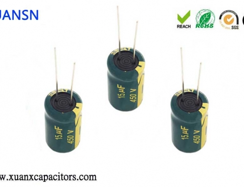 Features of high frequency capacitors