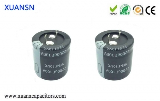horn electrolytic capacitor