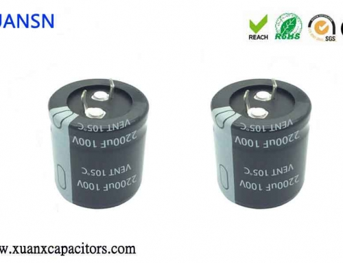 What is a horn electrolytic capacitor? Its characteristics and applications