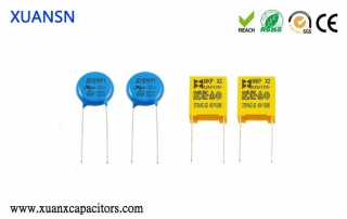 CBB capacitors and safety capacitors
