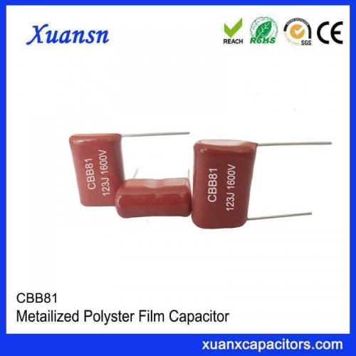 123J high voltage polypropylene film capacitor CBB81 factory direct sales