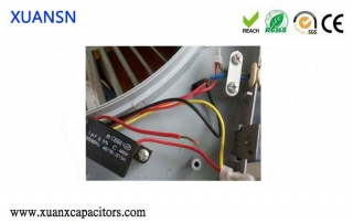 Fan start capacitor