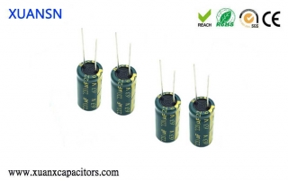How to discharge an electrolytic capacitor