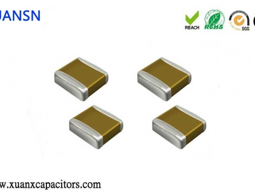 Chip capacitors and its dielectric material