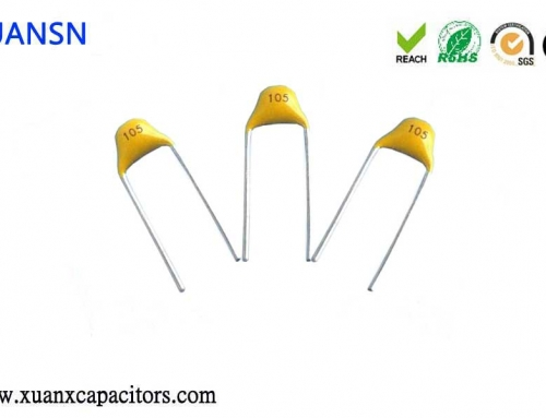 Application and advantages and disadvantages of monolithic capacitors