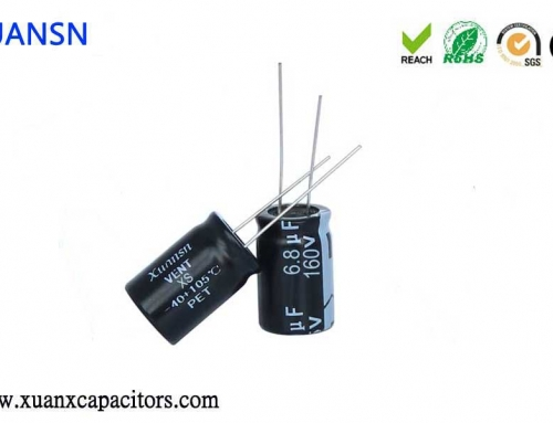 The difference between patch and plug-in electrolytic capacitor