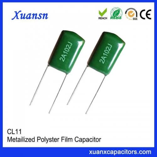 102J mylar film capacitor