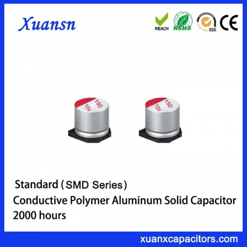 SMD solid aluminum electrolytic capacitors