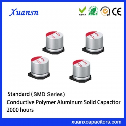 Ultra-small solid capacitors