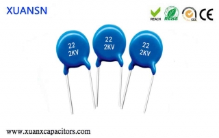 Characteristics of ceramic capacitors