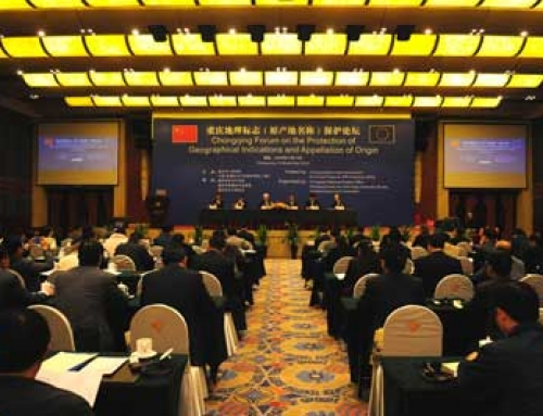 Signing of Geographical Indications between China and Europe