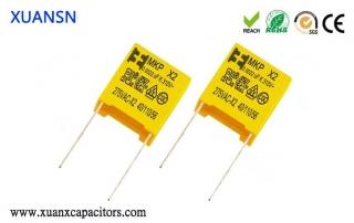 Polystyrene capacitors