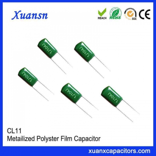 0.1 uf polyester capacitor cL11