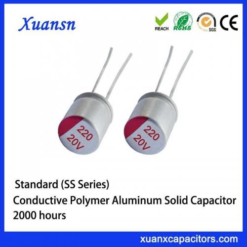 Standard solid aluminum capacitors