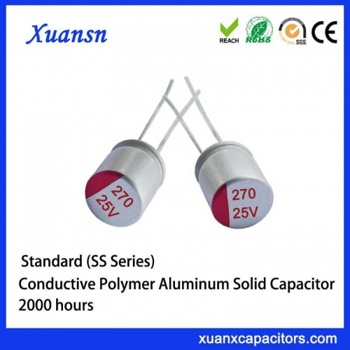 Solid capacitor 270UF/25V