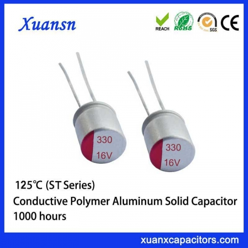 Polymer solid capacitor