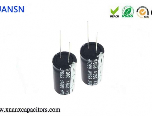 How to test the power output capacitors plugged in reverse